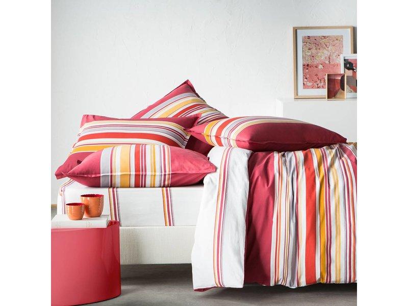 Matt & Rose Esprit graphique Terra Cotta - Spannbettlaken - Doppel - 140 x 200 cm - Multi-