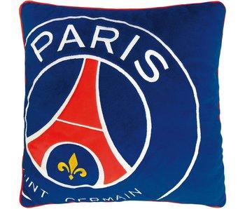Paris Saint Germain Logo oreiller 36x36cm 100% Polyester