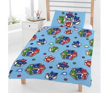 PJ Masks Junior Duvet Cover Badges 120x150cm