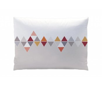 Matt & Rose Pillowcase Esprit scandinave burgundy 50x70cm