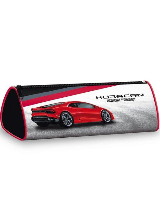 Lamborghini Huracan round pencil case