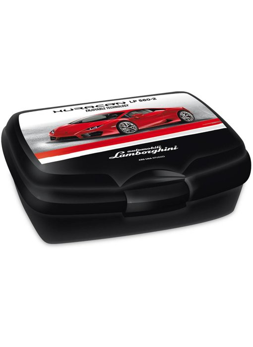 Lamborghini lunch box