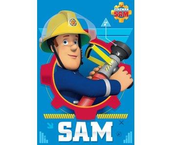 Brandweerman Sam Plaid Polaire Action 100x150cm