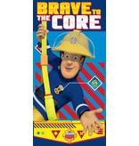 Brandweerman Sam Brave - Drap de plage - 70 x 140 cm - Multi-