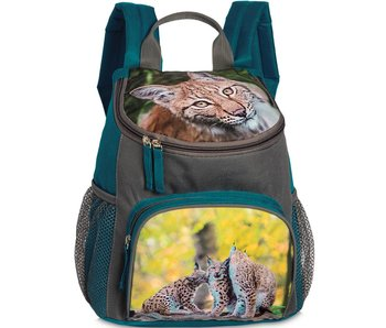 Animal Pictures backpack Lynx blue 30 cm
