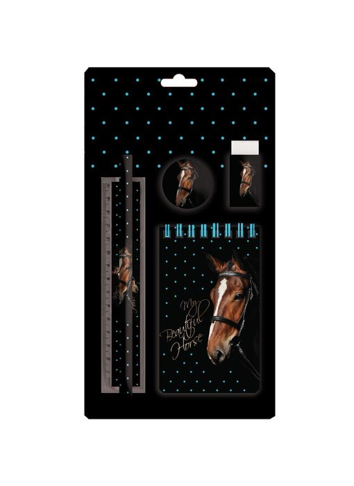 Animal Pictures Writing set My beautiful horse 5 pieces