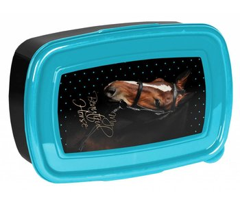Animal Pictures Lunchbox My beautiful horse zwart