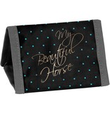 Animal Pictures My beautiful horse - Wallet - 12 x 8.5 cm - Black