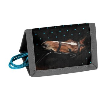 Animal Pictures Porte-monnaie Mon beau cheval noir