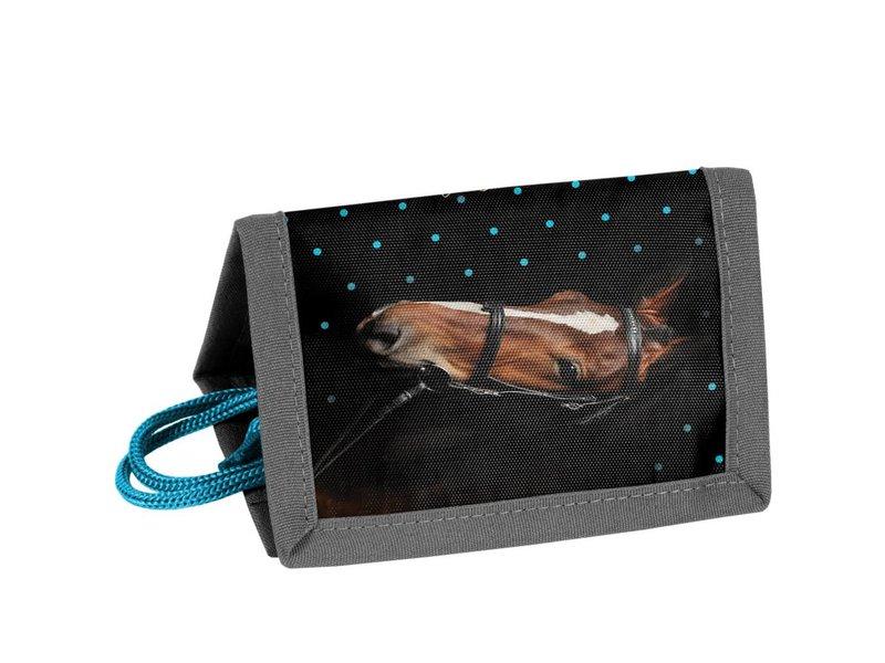 Animal Pictures My beautiful horse - Portemonnee - 12 x 8.5 cm - Zwart