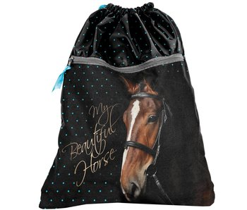 Animal Pictures Gymbag My Beautiful Horse noir