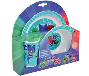 PJ Masks petit-déjeuner set 3 pièces