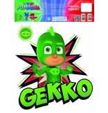 PJ Masks Gekko - Muursticker - Groen