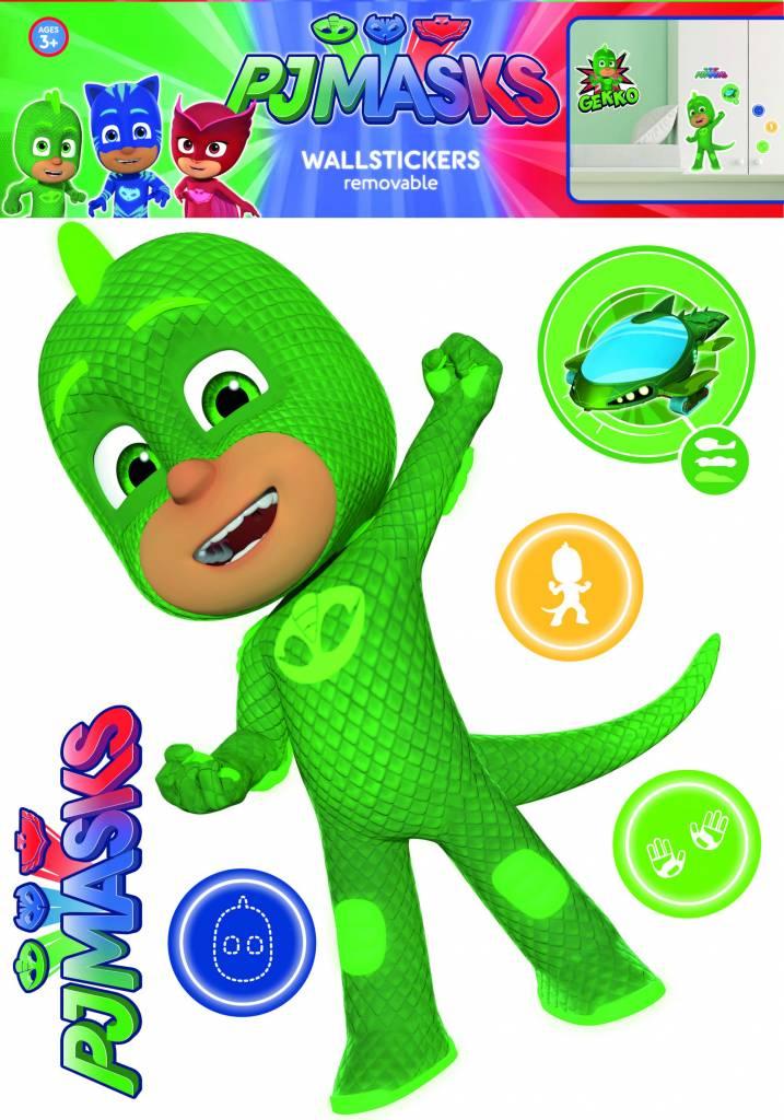 PJ Masks Gekko - Wall sticker - Green - SimbaShop.nl
