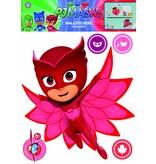 PJ Masks Owlette - Wall sticker - Red