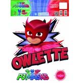 PJ Masks Owlette - Wall Sticker - Rouge