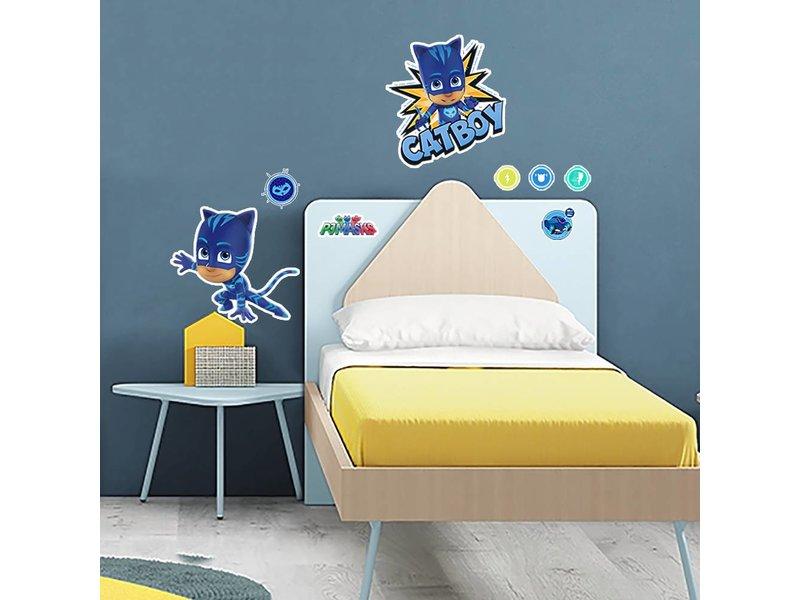 PJ Masks Boy Cat - Wall Sticker - Bleu