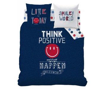 Smiley World Dekbedovertrek Positive