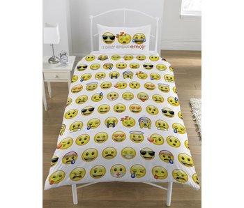 Emoji Dekbedovertrek 140x200 + 50x75cm