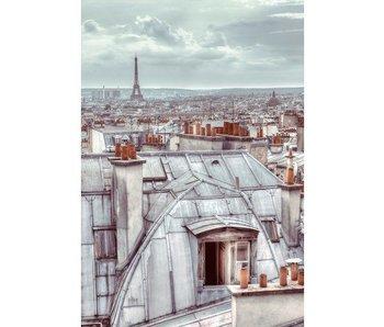 Fotobehang Wallpaper Rooftop 158x232cm