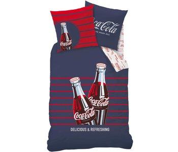 Coca Cola Dekbedovertrek  Lines 140x200cm