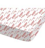 Coca Cola Lines - Drap Housse - Double - 140 x 200 cm - Blanc