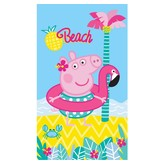 Peppa Pig Summer - Beach towel - 70 x 120 cm - Multi