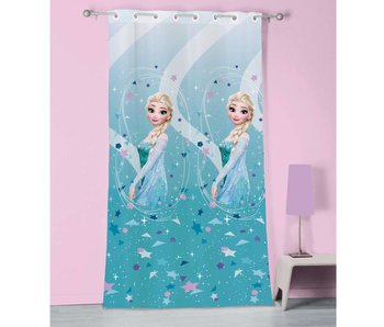Disney Frozen Curtain Ice 100% Polyester 140x240cm