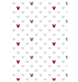 Disney Minnie Mouse The End - Duvet Cover- Double - 200 x 200 cm - White / Multi