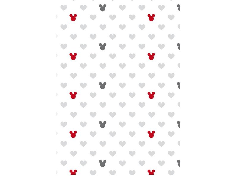 Disney Minnie Mouse The End - Dekbedovertrek - Tweepersoons - 200 x 200 cm - Wit/Multi