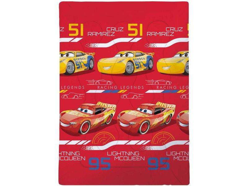 Disney Cars Legends - Beddensprei - Eenpersoons - 140 x 200 cm - Multi