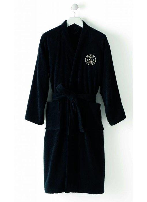 Paris Saint Germain Bathrobe Black XL