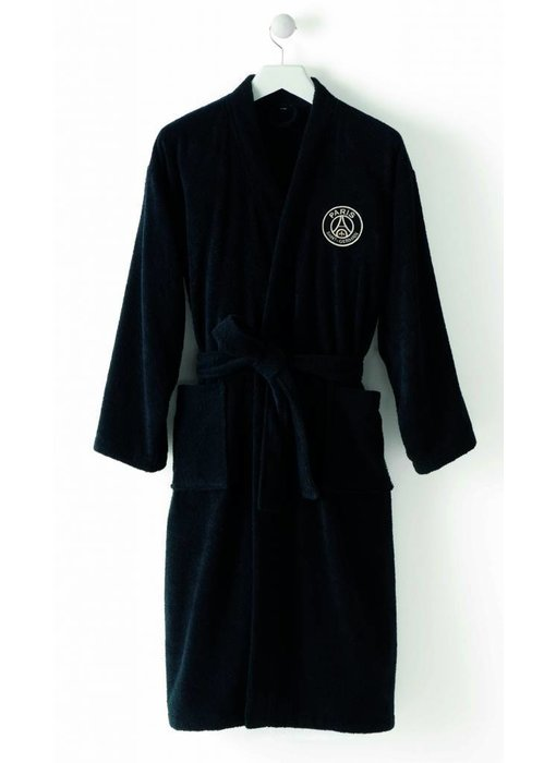 Paris Saint Germain Bathrobe Black XXL