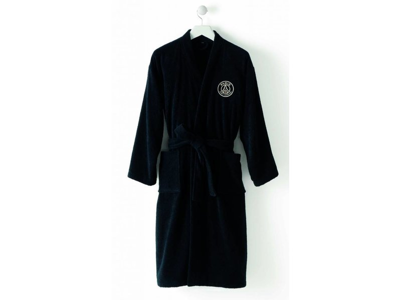 Paris Saint Germain Black - Peignoir - XXL - Noir