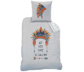 Matt & Rose Duvet cover Adventure 140 x 200 + pillowcase 63x63 cm