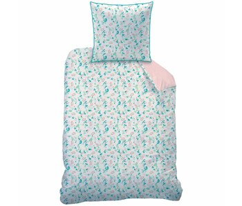 Matt & Rose Duvet cover Jardin 140 x 200 + pillowcase 63x63 cm