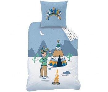 Matt & Rose Bettbezug Petit Indien 140 x 200 + Kissenbezug 63x63 cm