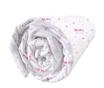 Matt & Rose Fitted sheet Licorne 90x200cm