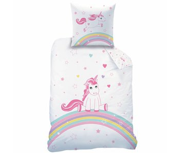 Matt & Rose Duvet cover Licorne 140 x 200 + pillowcase 63x63 cm