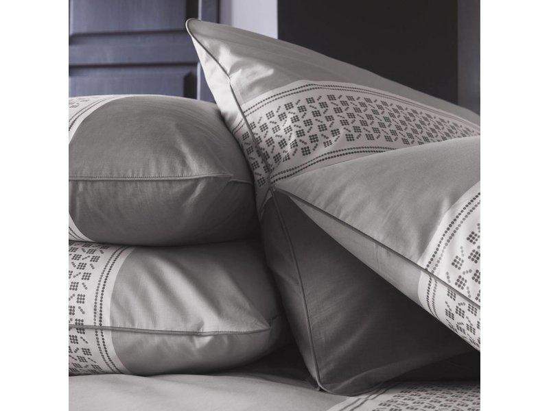 Matt & Rose Esprit Domino - Dekbedovertrek - Tweepersoons - 200 x 200 cm - Taupe - Inclusief 2 kussenslopen