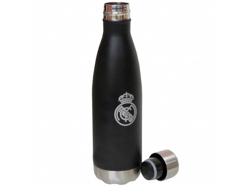 Real Madrid - Bouteille thermos - 500 ml - Noir