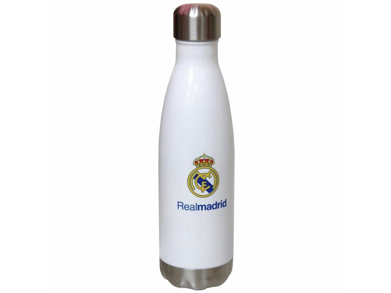Real Madrid - Bouteille thermos - 500 ml - Blanc