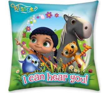 Wissper Coussin I Can Hear You 40 x 40 cm