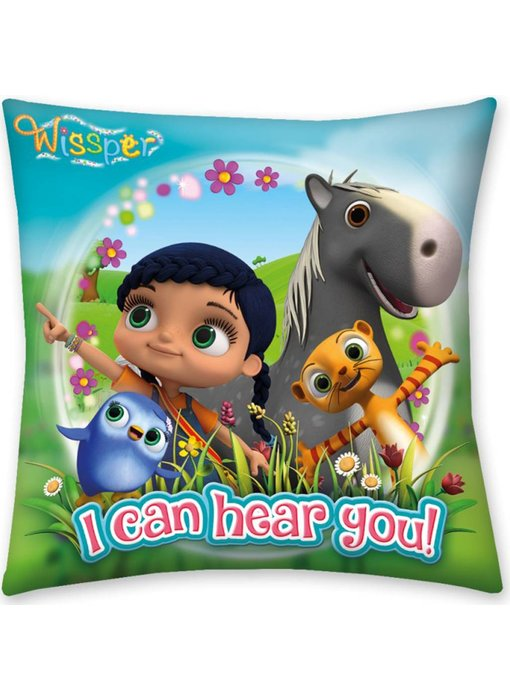 Wissper Cushion I Can Hear You 40 x 40 cm