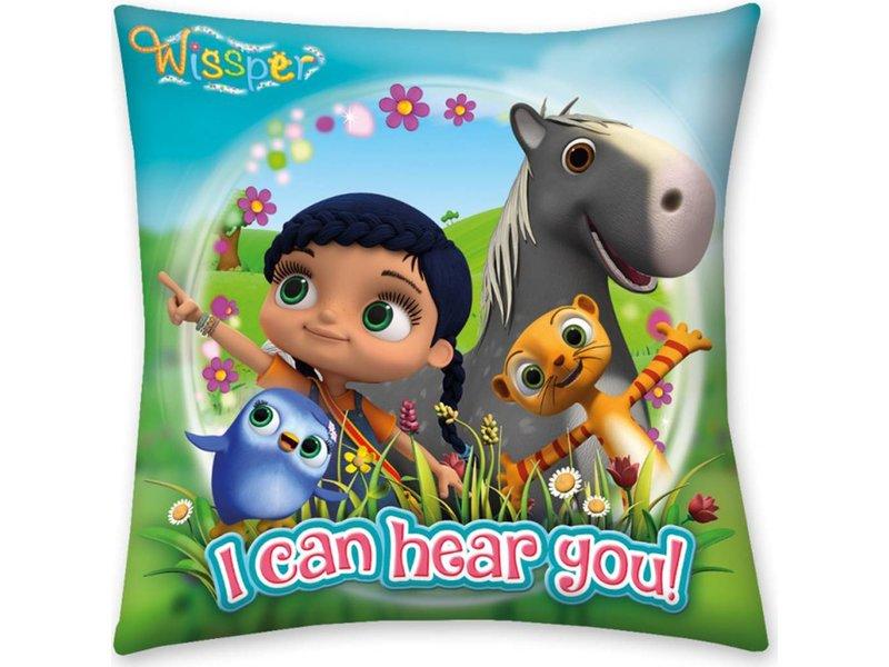 Wissper I Can Hear You - Cushion - 40 x 40 cm - Multi