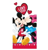 Disney Minnie Mouse Love - Beach towel - 70 x 140 cm - Multi