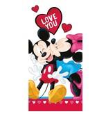 Disney Minnie Mouse Love - Strandlaken - 70 x 140 cm - Multi