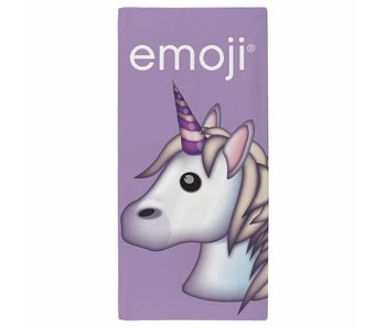 Emoji Beach towel Unicorn 70 x 140 cm