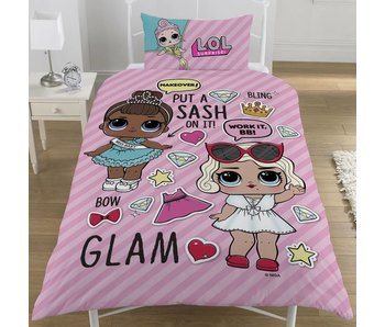 L.O.L. Surprise! Duvet cover Glam single 135x200 + 50x75cm