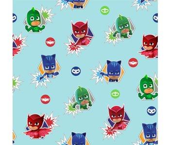 PJ Masks Heroes papier peint 10 x 53 cm
